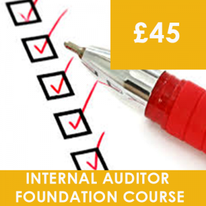 Internal Auditor Foundation Course